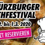 6. Würzburger Fischfestival vom 26. Februar bis 1. März 2020